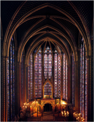 Ste. Chapelle upper chapel