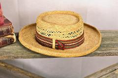 Straw Hat-1850 - 1870