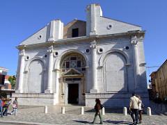Tempio Malatestiano, LB Alberti, 1450, Rimini (incomplete)