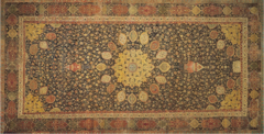 The Ardabil Carpet Maqsud of Kashan. 1539-1540 C.E. Silk and wool The Ardabil Carpet is exceptional; it is one of the world's oldest Islamic carpets, as well as one of the largest, most beautiful and historically important. It is not only stunning in its own right, but it is bound up with the history of one of the great political dynasties of Iran.