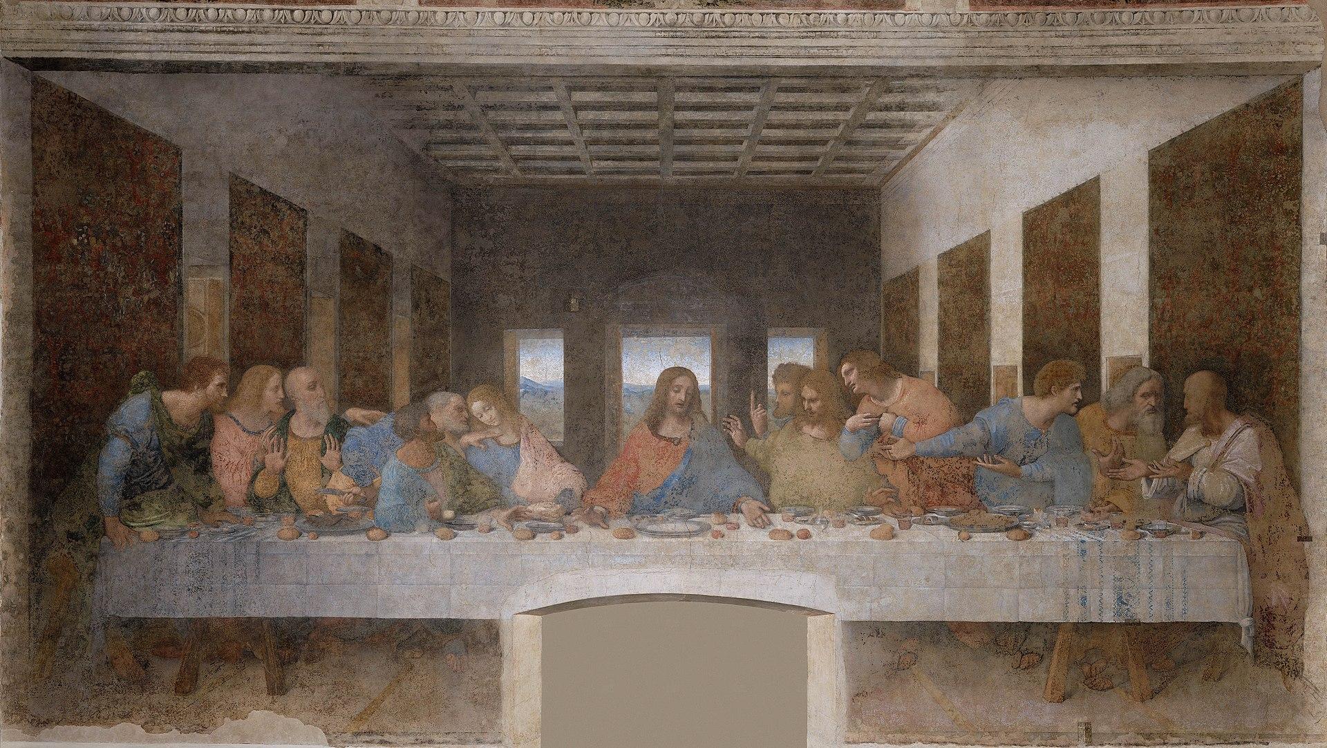 The Last Supper, da Vinci