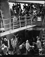 The Steerage Alfred Stieglitz. 1907 C.E. Photogravure The Steerage is considered Stieglitz's signature work, and was proclaimed by the artist and illustrated in histories of the medium as his first