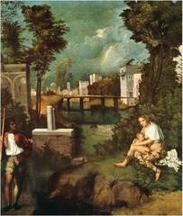 The Tempest Giorgione Region of Venice