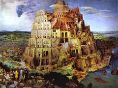 The Tower of Babel Artist: Pieter Bruegel Themes -Contemporary life: Antwerp in 1560s is height of publishing industry; selling indulgences for St. Peters funding; dealing w/ corruption/building is crumbling/losing sense of spirituality -Religion: Tower of Babel marks moment of god destroying tower and dispersing language; building looks classical for St. Peters funding