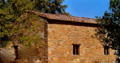 This is a picture of the house Leonardo was born in.