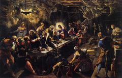 Tintoretto, Last Supper; 1594