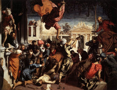 Tintoretto, Miracle of St. Mark Freeing a Slave; 1548