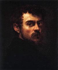 Tintoretto, Self Portrait; 1550