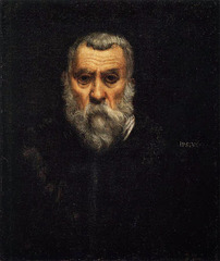 Tintoretto, Self Portrait; 1588