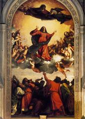 Titian, Assumption of the Virgin; 1517