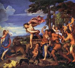 Titian, Bacchus and Ariadne; 1518