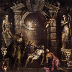 Titian, Pieta; 1576