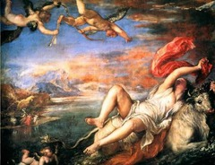 Titian Rape of Europa 1559-1562