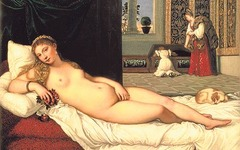 Titian Venus of Urbino 1538