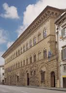 Title/Name: Façade to Palazzo Medici-Riccardi Artist:Attributed to Michelozzo di Bartolomeo Date: Begun in 1446 Location:Florence, Italy Significance: Exemplifies the simultaneous respect for and independence from the antique that characterizes the Early Renaissance.