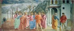 Tribute Money Masaccio Region of Florence