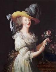 Vigee-Lebrun, Portrait of Marie Antoinette