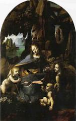 Virgin of the Rocks, Leonardo da Vinci
