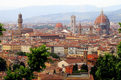 Why Rome did not thrive as Florence did