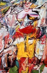 Woman, I William de Kooning. 1950-1952 C.E. Oil on canvas Woman, I reflects the age-old cultural ambivalence between reverence for and fear of the power of the feminine.