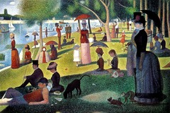 A Sunday on La Grande Jatte Artist: Seurat Themes: -modernity: think about self; bourgeousie, clothing