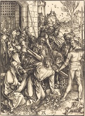 Albrecht Durer, Christ Carrying the Cross (Large Passion), c. 1498-1499 (Woodcut)
