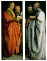 """Albrecht Durer, Four Apostles, c.</p> <p> 1526 (Painting)""""></p></div> <div class="""