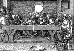 Albrecht Durer, Last Supper, 1523 (Woodcut)