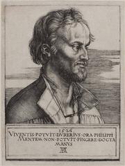 Albrecht Dürer. Portrait of Philip Melancthon. Engraving. 1526.</p> <p>