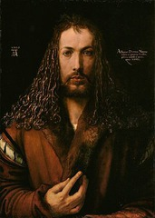 Albrecht Durer, Self Portrait, c. 1500 (Painting)