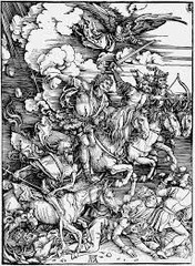 Apocalypse Four horsemen of the apocalypse