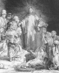 Christ Healing the Sick: The Hundred Guilder Print