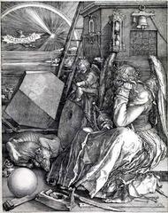 Durer.</p> <p> Melencolia. Engraving. 1514.