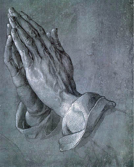 Durer.</p> <p> Praying Hands. Drawing. 1510.