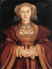 Hans Holbein the Younger.</p> <p> Portrait of Anne of Cleves. Oil on Panel. 1539.