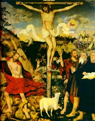 Lucas Cranach the Elder. The Weimar Altarpiece. Oil on Panel. 1555.</p> <p>
