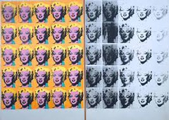 Marilyn Diptych, 1962, Acrylic on canvas  support (each): 2054 x 1448 x 20 mm, Tate