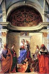 San Zaccaria Altarpiece, Bellini 1505 - Venetian Art