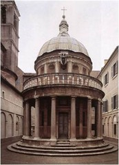 Tempietto, Bramante 1502 - site of execution of St Peter, the first pope -