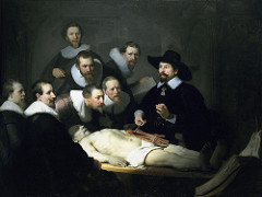 "The Anatomy Lesson of Dr.</p> <p> Tulp""></p></div> <div class="