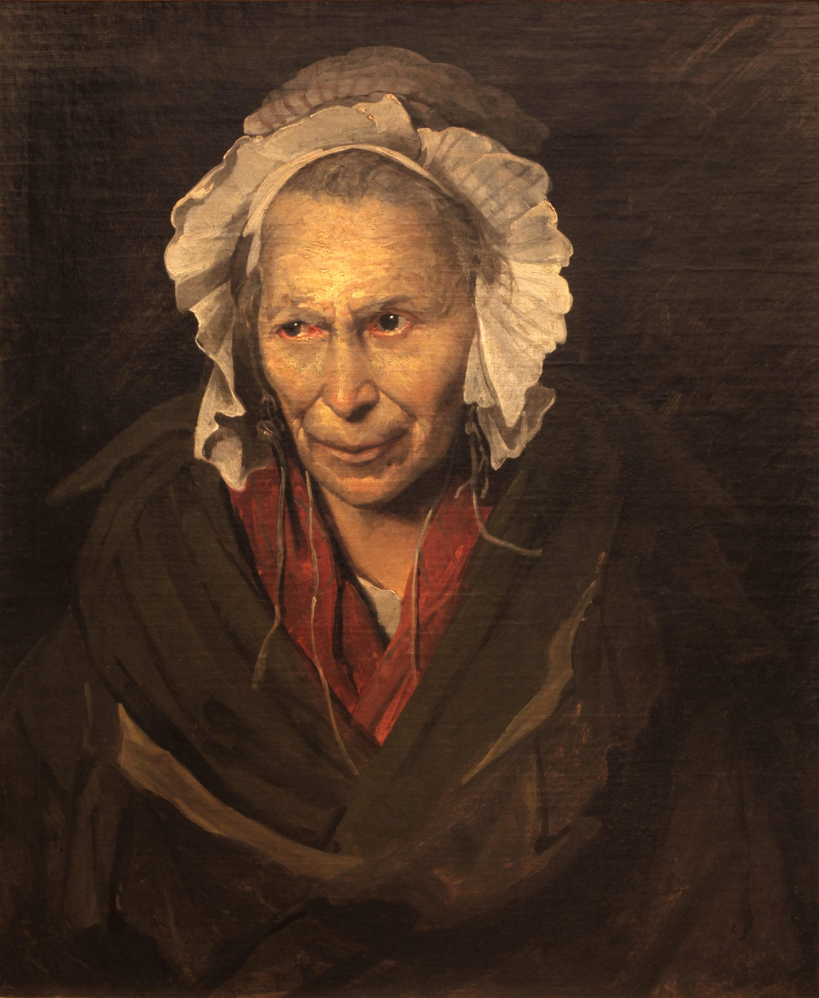 Théodore Géricault, Portrait of a Woman Suffering from Obsessive Envy